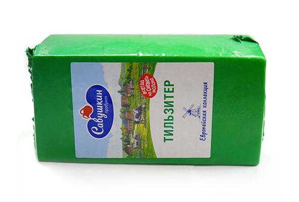 Савушкин продукт - сыр Тильзитер